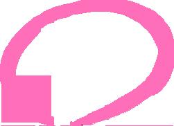 強調のためのピンクの丸
