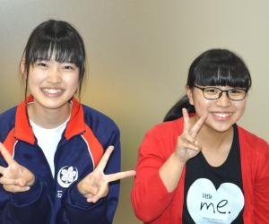 石岡あやねさん&笹井莉央さん