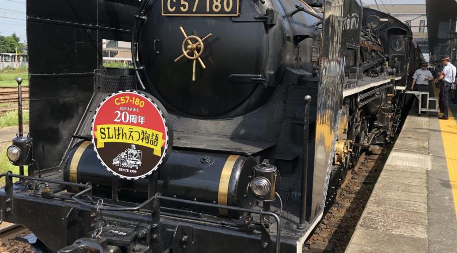塾の先生と蒸気機関車【まつがく東新潟教室】