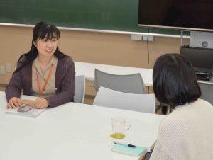 第一学園高校インタビュー風景